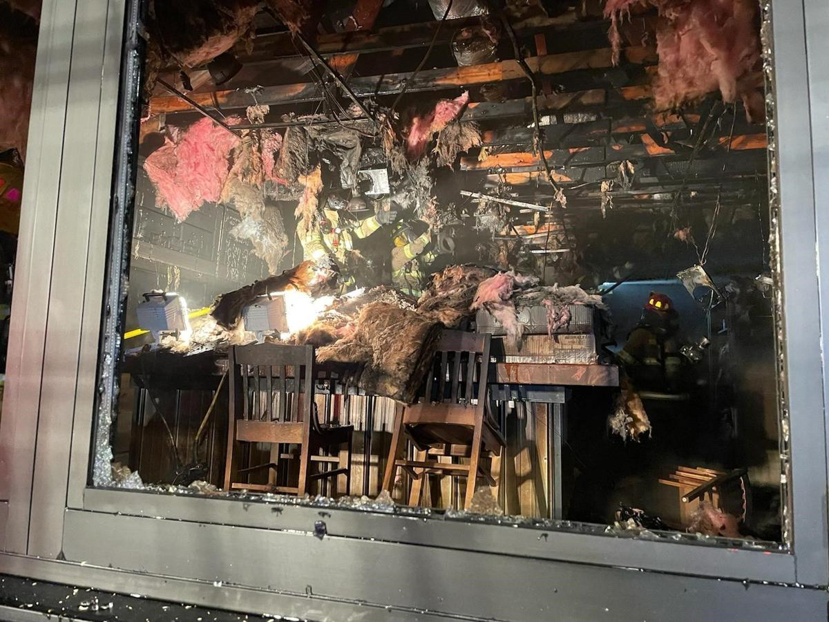 Shanty Family Tavern fire