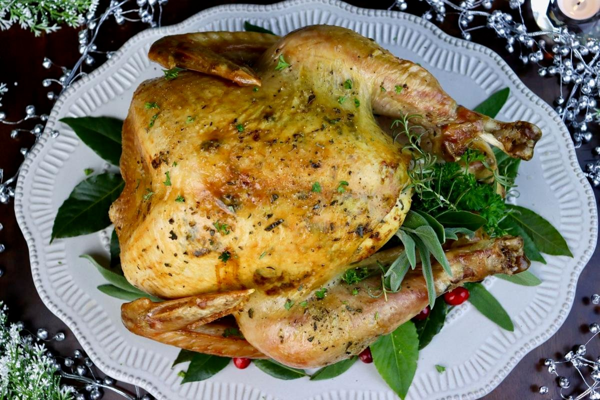 Butter and Herb Roasted Turkey
