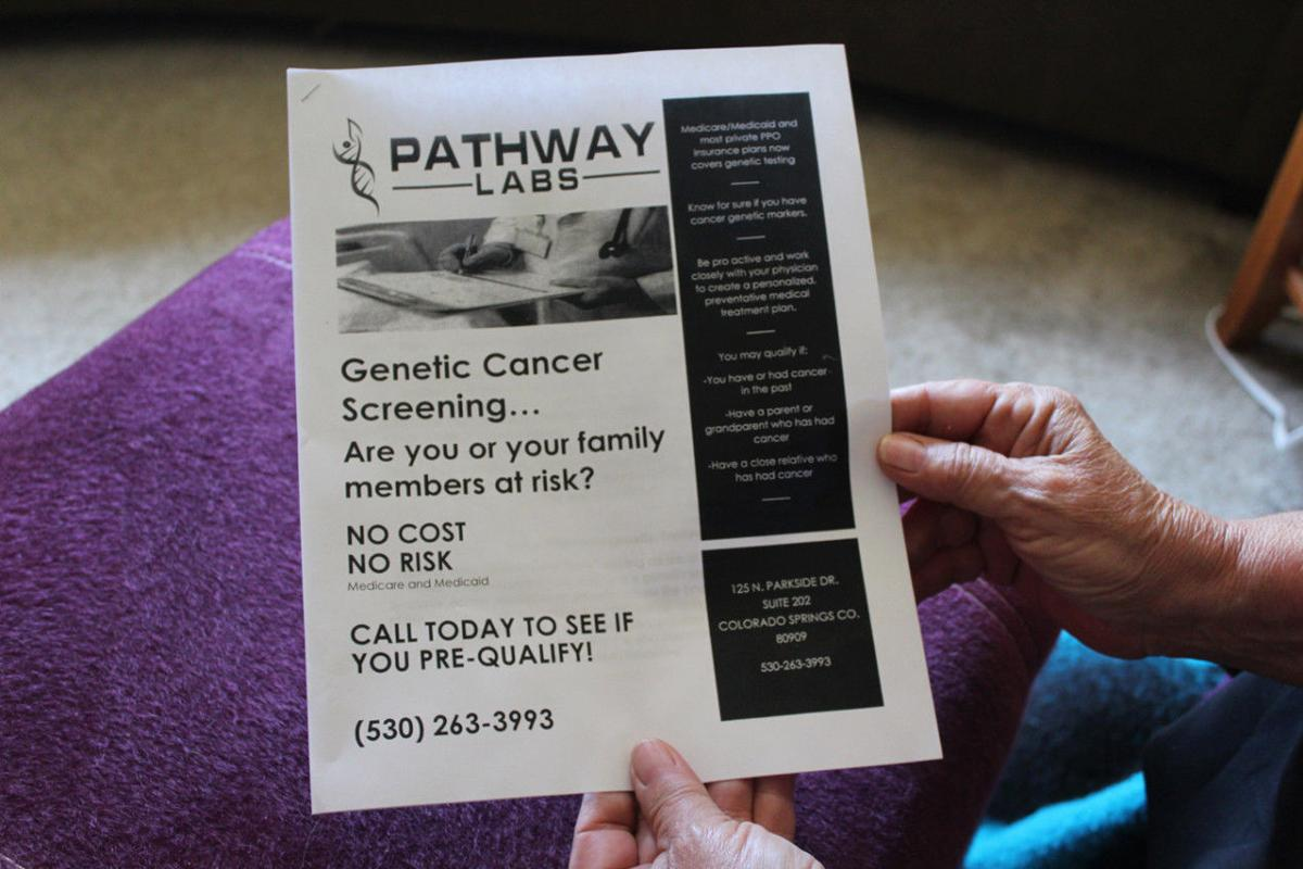 Genetic-testing scam targets seniors and rips off Medicare | Health