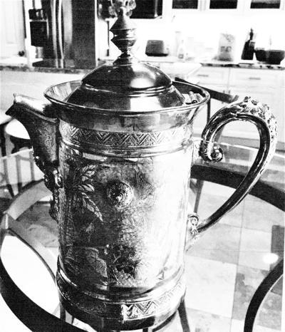 19th-century water pitcher
