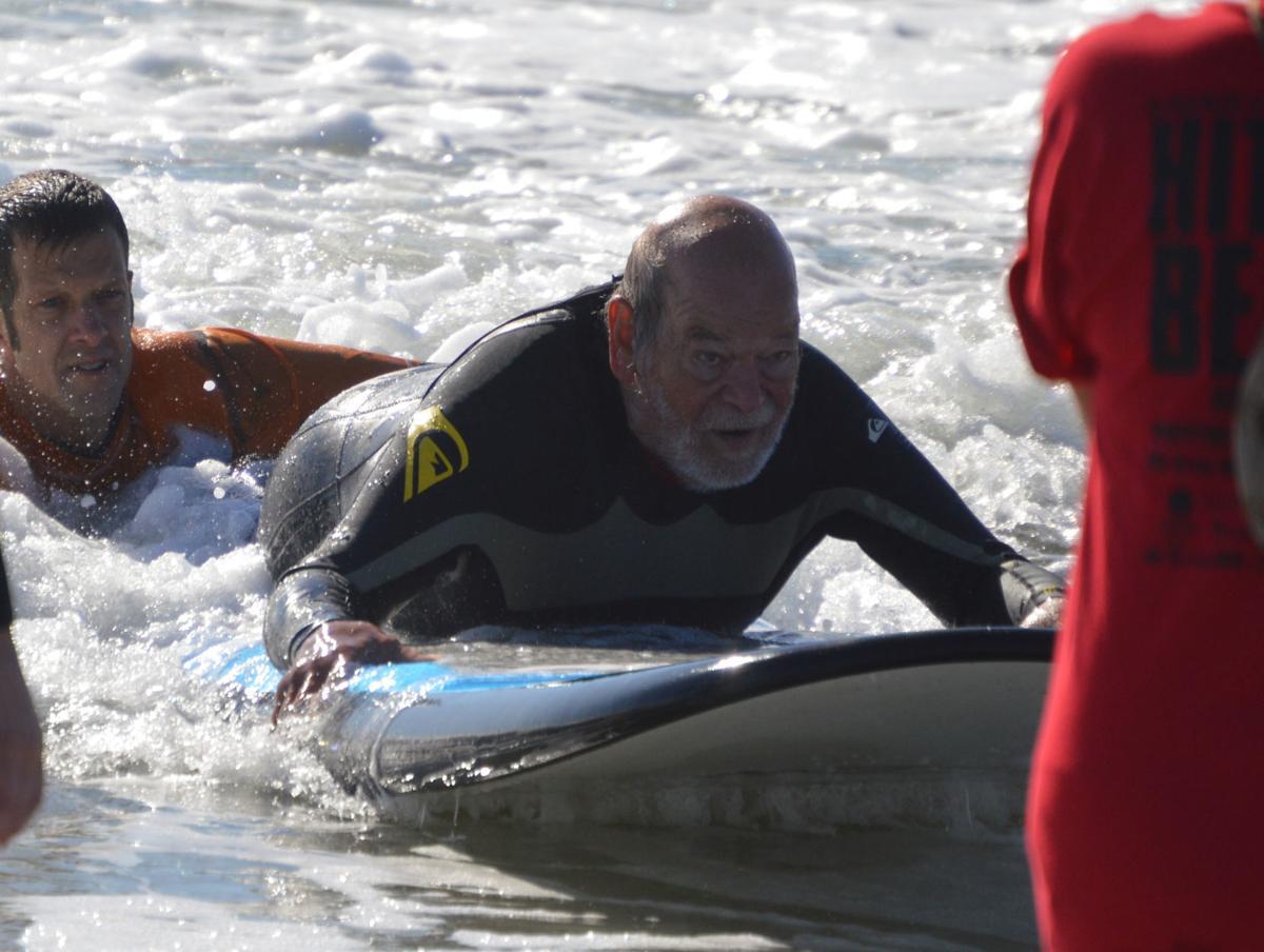 Surf's up for wounded vets, disabled