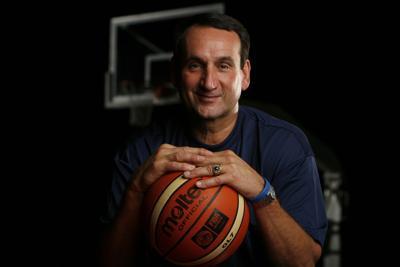 NCAA Basketball: Mike Krzyzewski Portraits