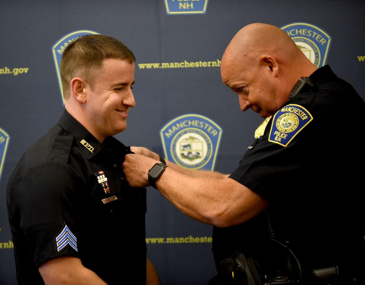Manchester Police Ceremony