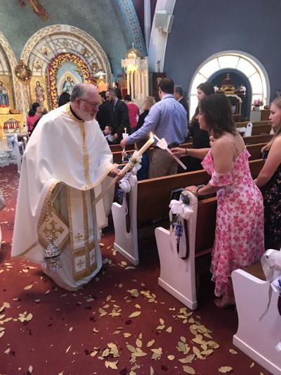 Orthodox faithful gather for Easter celebrations