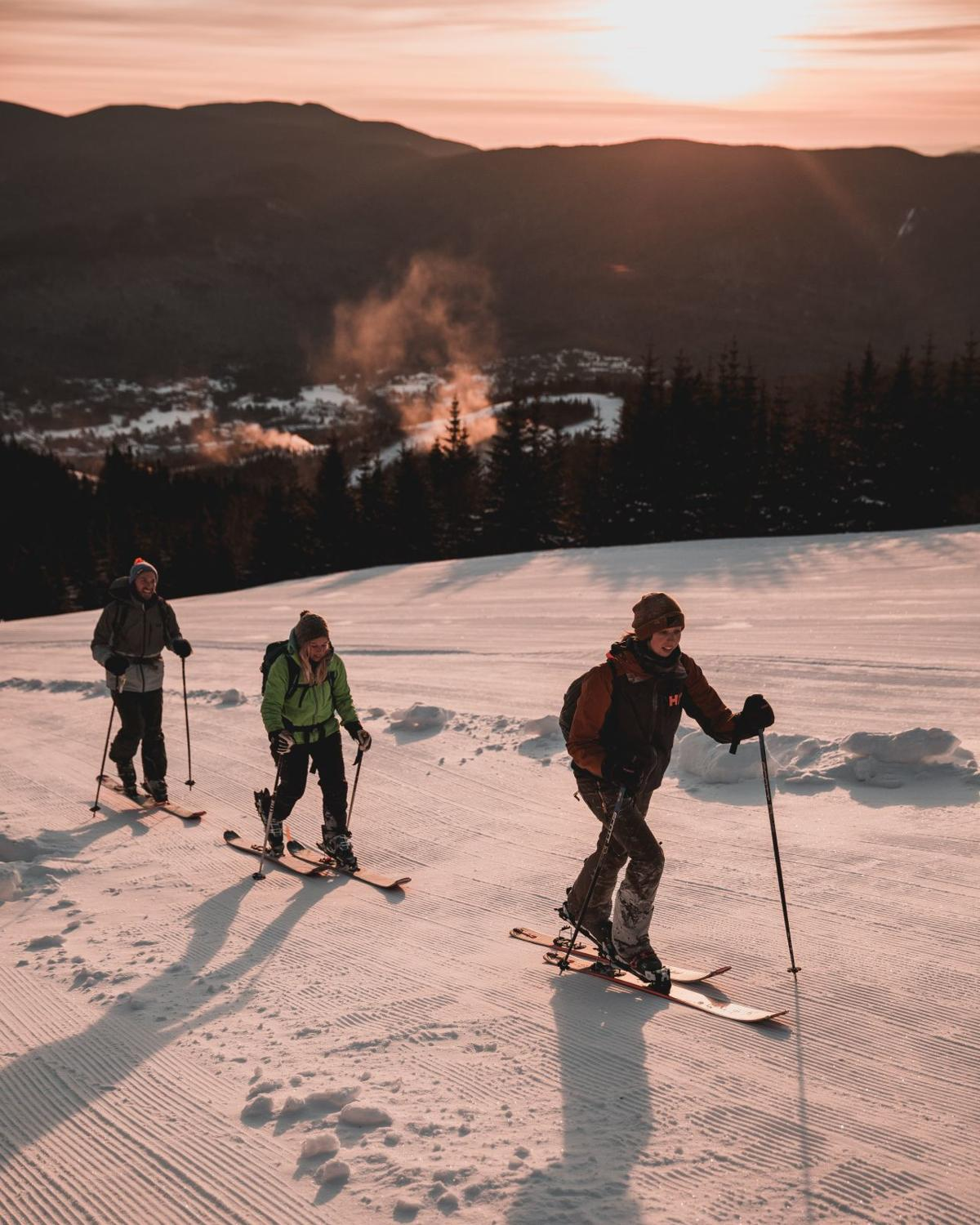 Winter Notes: Waterville Valley uphill skiing