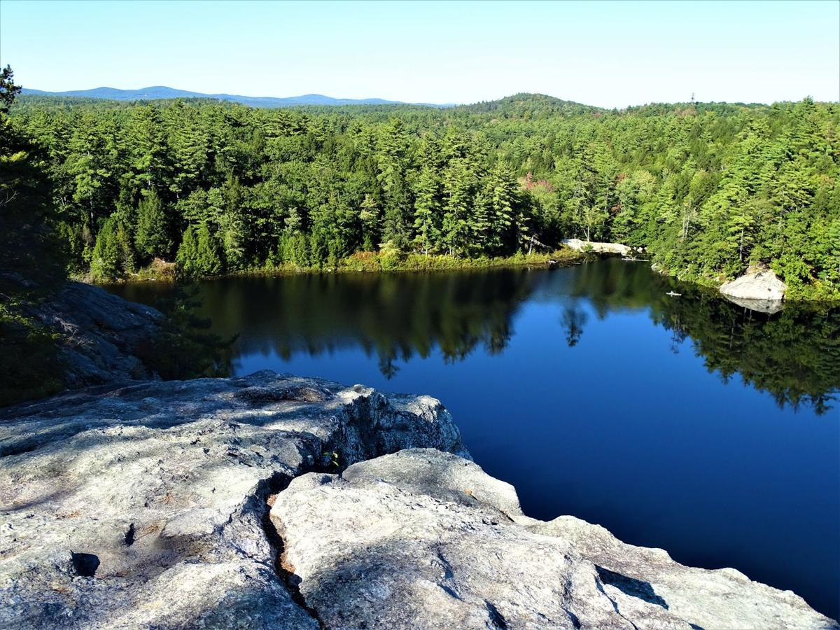 View from Stonehouse Pond ledge