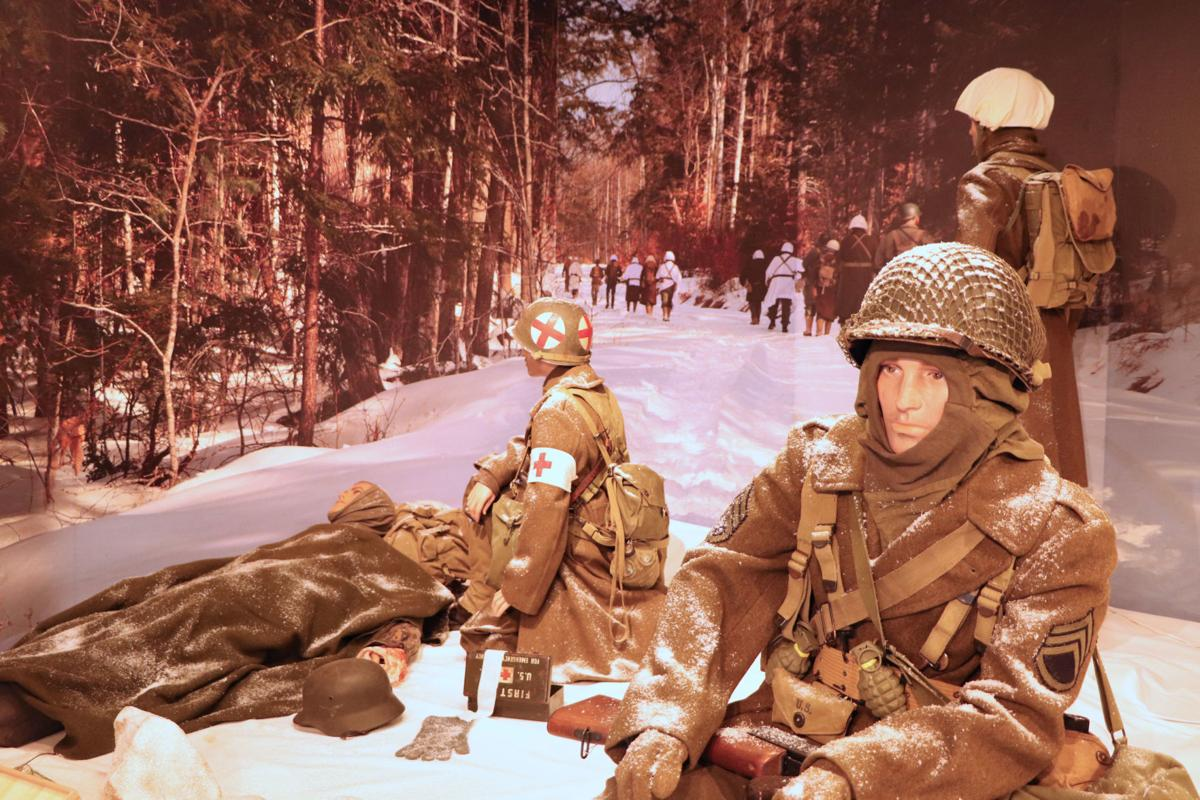 Battle of the Bulge exhibit at Wright Museum