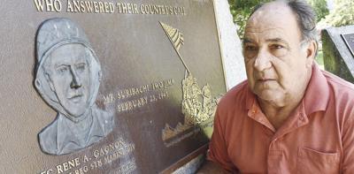 Flag raising wasn't what made Rene Gagnon a hero of Iwo Jima