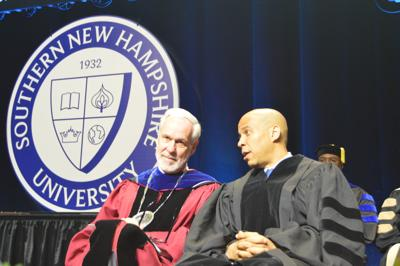 Booker speaks to SNHU graduates