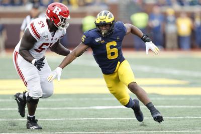 NCAA Football: Rutgers at Michigan