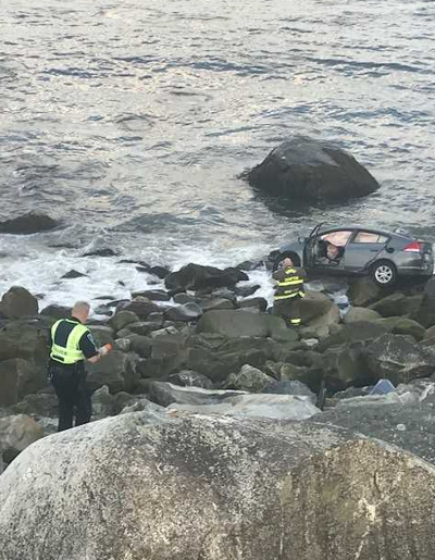 Londonderry driver faces charges after intentionally heading for the ocean