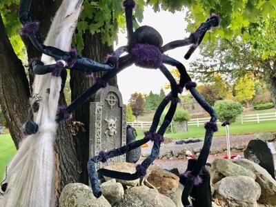 Bedford Halloween decorations
