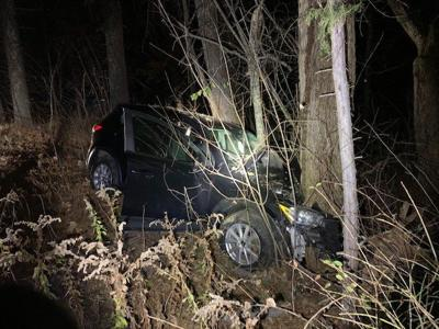 Hudson man suffers serious injuries after car strikes tree