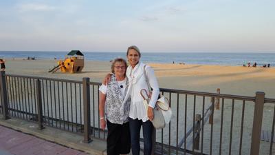 Jody Holt with mom