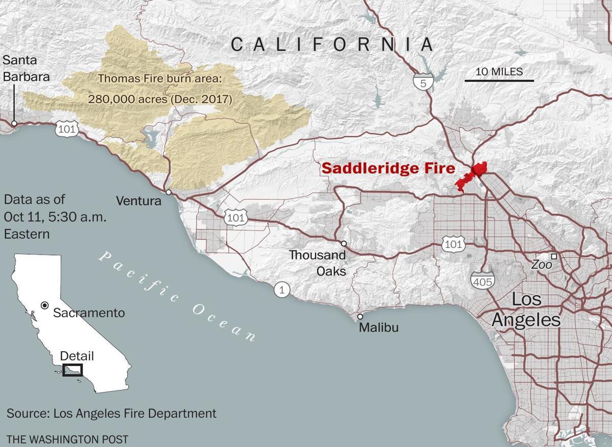 fast-moving brush fire burns homes, prompts mandatory