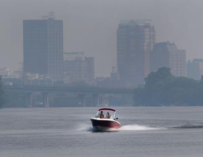 Smoke over the city