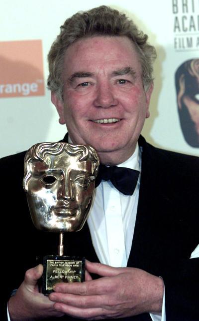 Veteran British actor Albert Finney