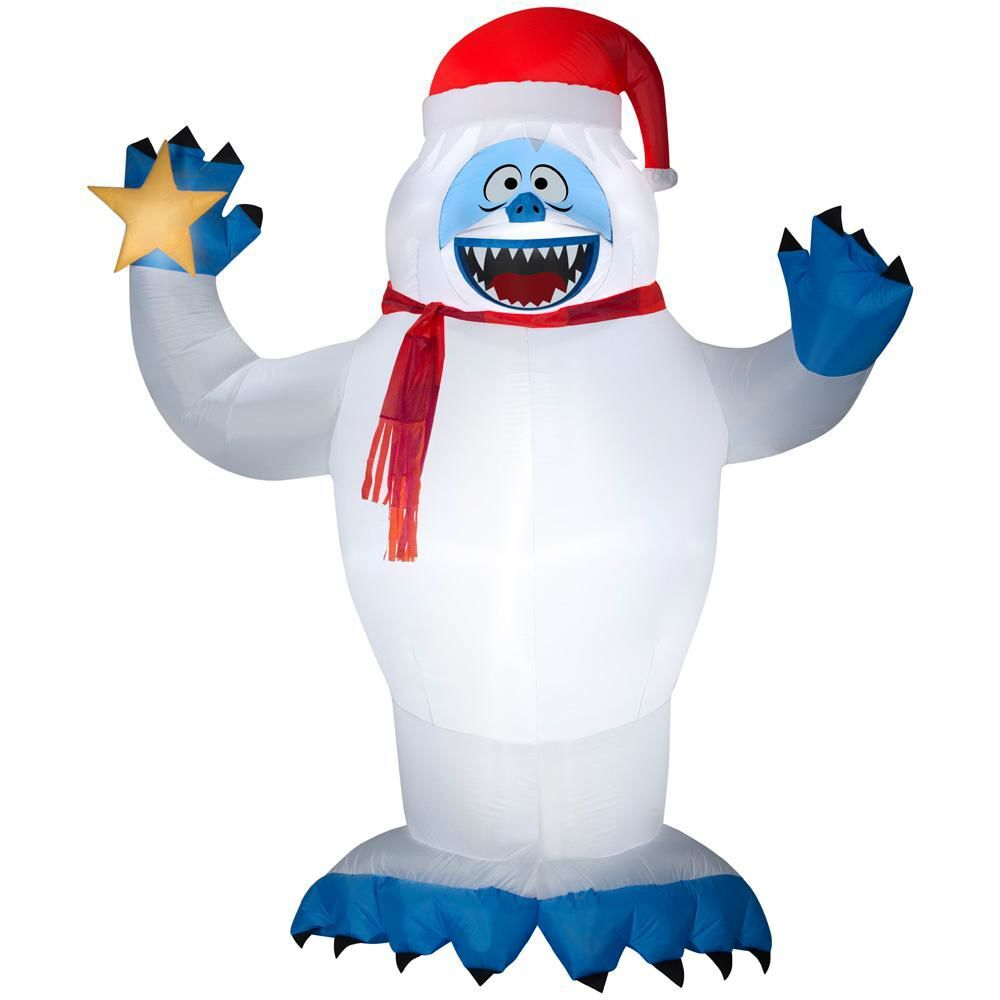 No-so-abominable snow creature