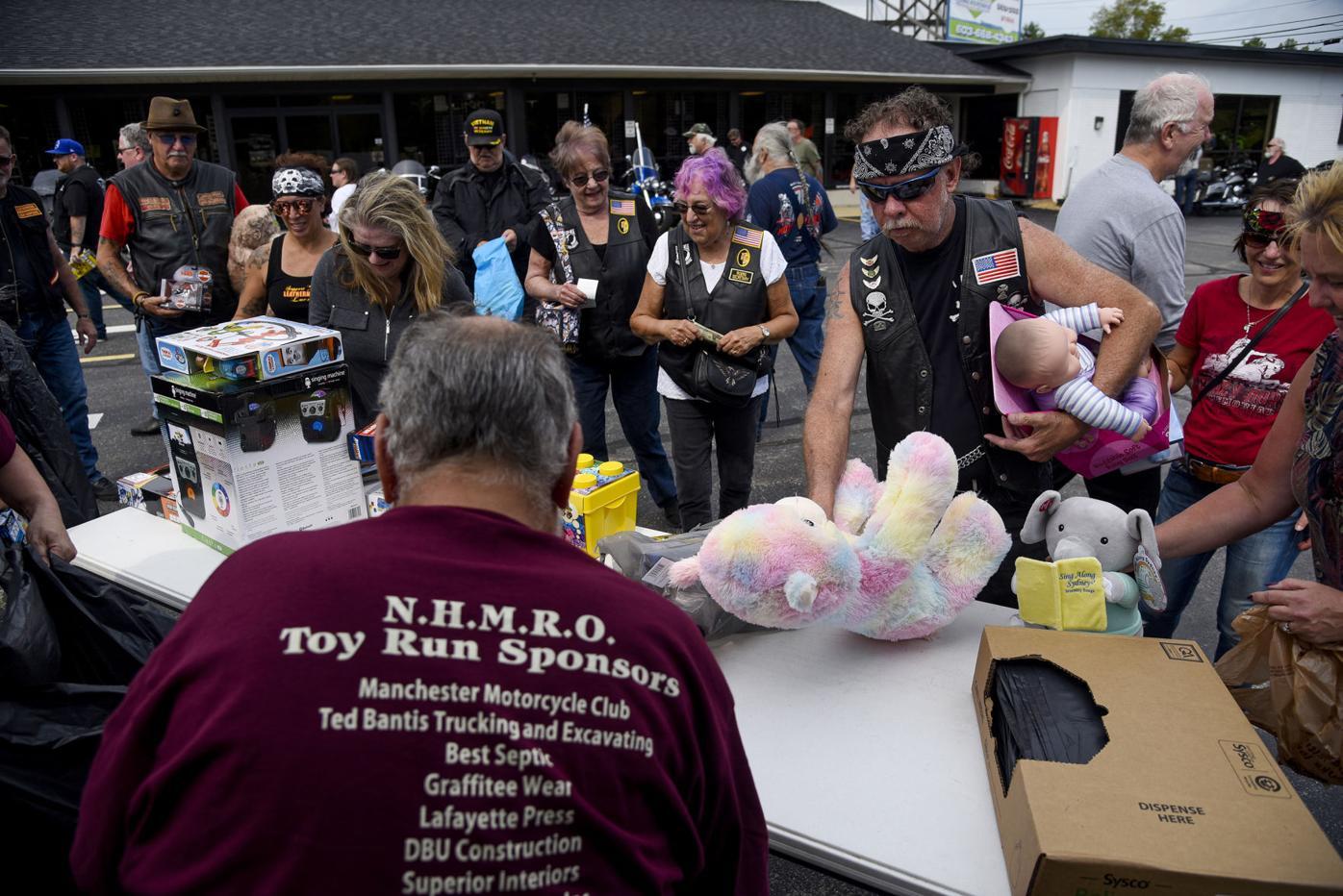 NHMRO Joanne Packard Memorial Toy Run donation