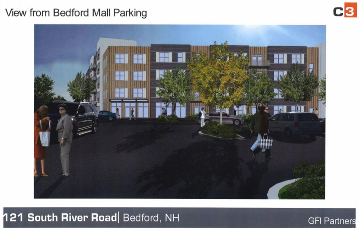 Town planners unhappy with modified design of Bedford