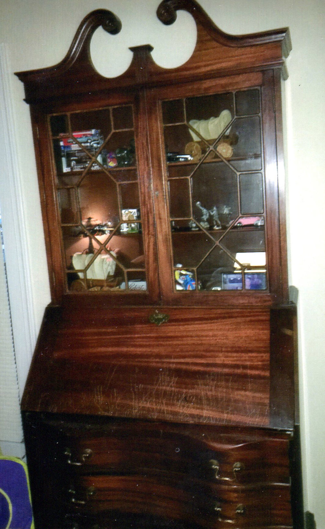Bookcase likely made around 1940