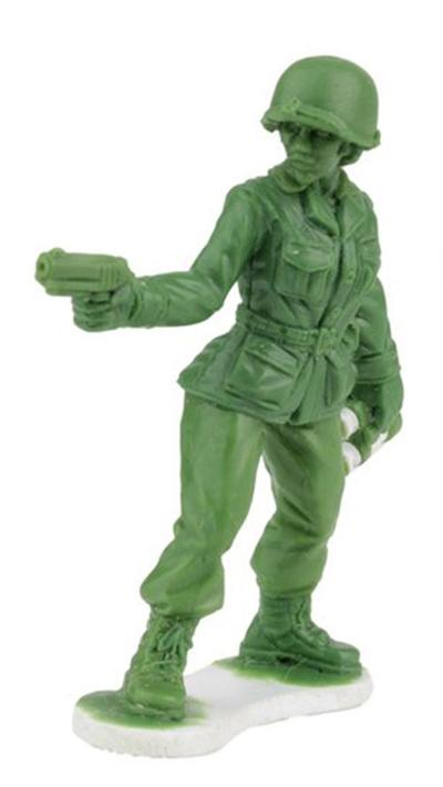 'Why do you not make girl Army men?' Toy company answers 6-year-old girl's plea with prototype