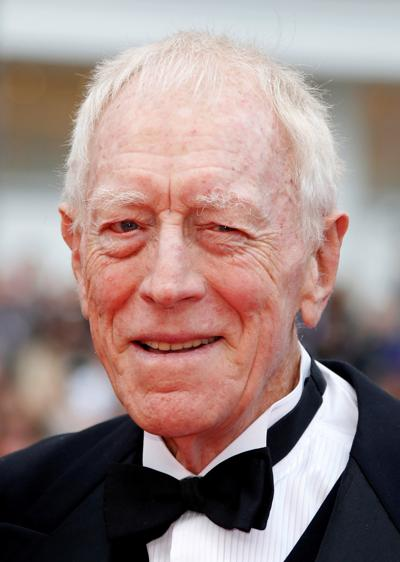 Actor Max von Sydow