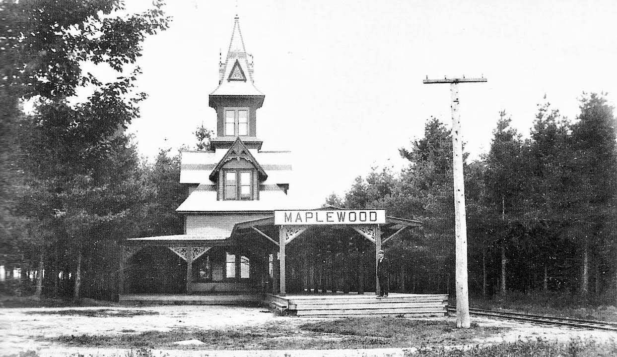 Maplewood Station, a century ago