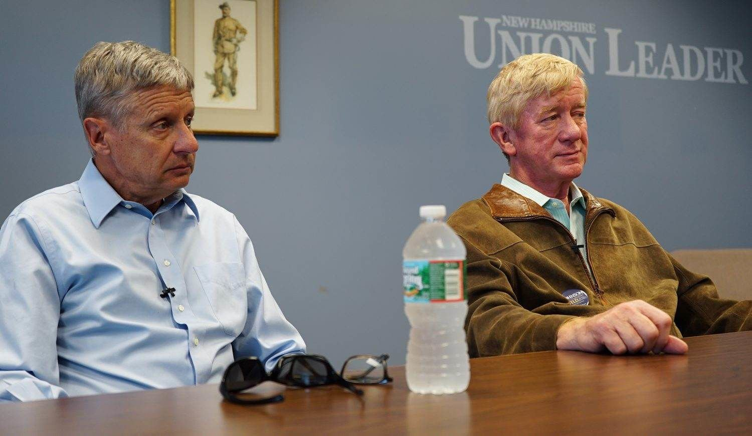 Bill Weld calls for tax return mandate