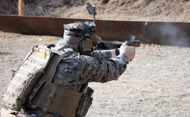 SIG Sauer pistols to serve every branch of military