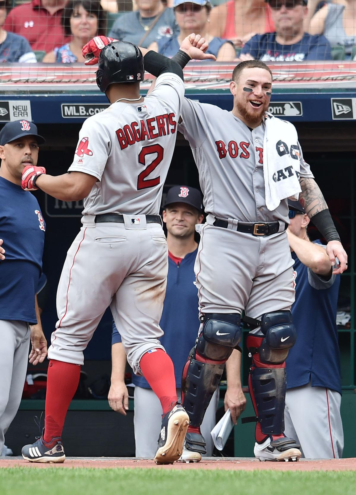 MLB: Boston Red Sox at Cleveland Indians