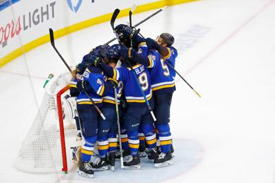NHL: Stanley Cup Playoffs-San Jose Sharks at St. Louis Blues