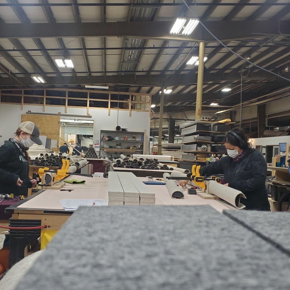 Littleton employees working