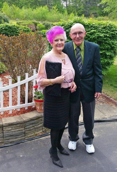 60th anniversary: Mr. and Mrs. McDaniel