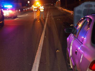 Man struck and killed on Everett Turnpike by alleged drunk driver