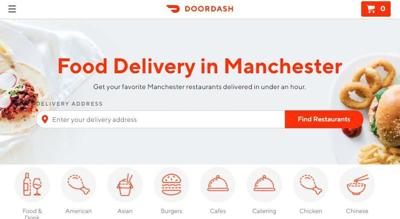DoorDash begins food delivery to your door in NH | Business