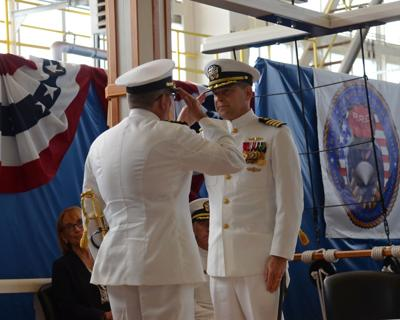 Capt. Daniel Ettlich takes command of Portsmouth Naval Shipyard