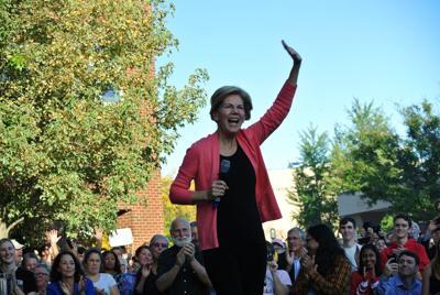 Elizabeth Warren in Keene