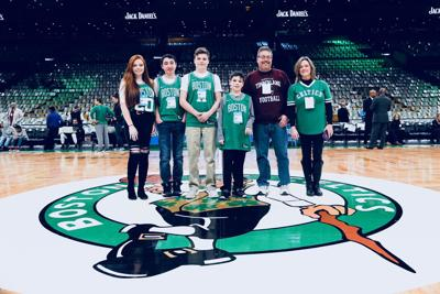 Ethan Gerry honored by Celtics