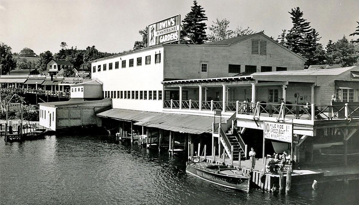 Irwin Marine dance hall