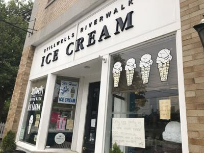 Ice cream shop owner: We're not the sidewalk mask police