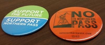 Northern Pass buttons