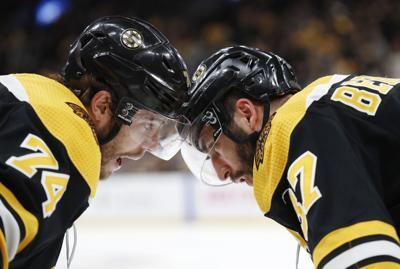 NHL: Stanley Cup Playoffs-Carolina Hurricanes at Boston Bruins