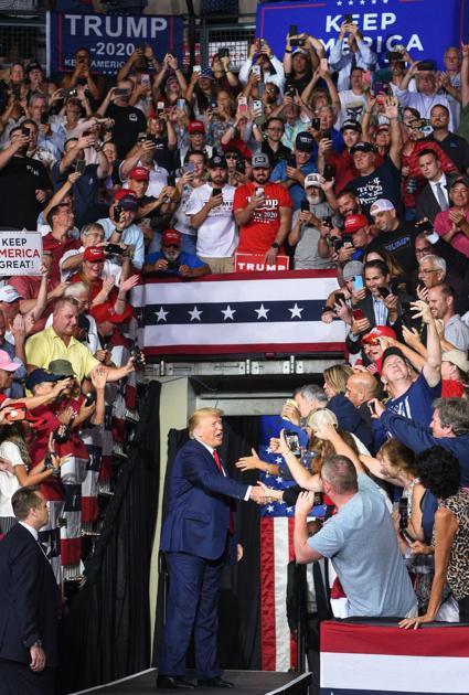President Trump visits NH