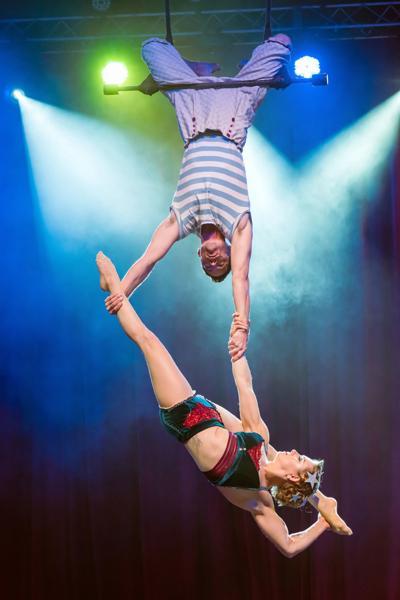 Cirque Mechanics to soar onto Darmouth College campus