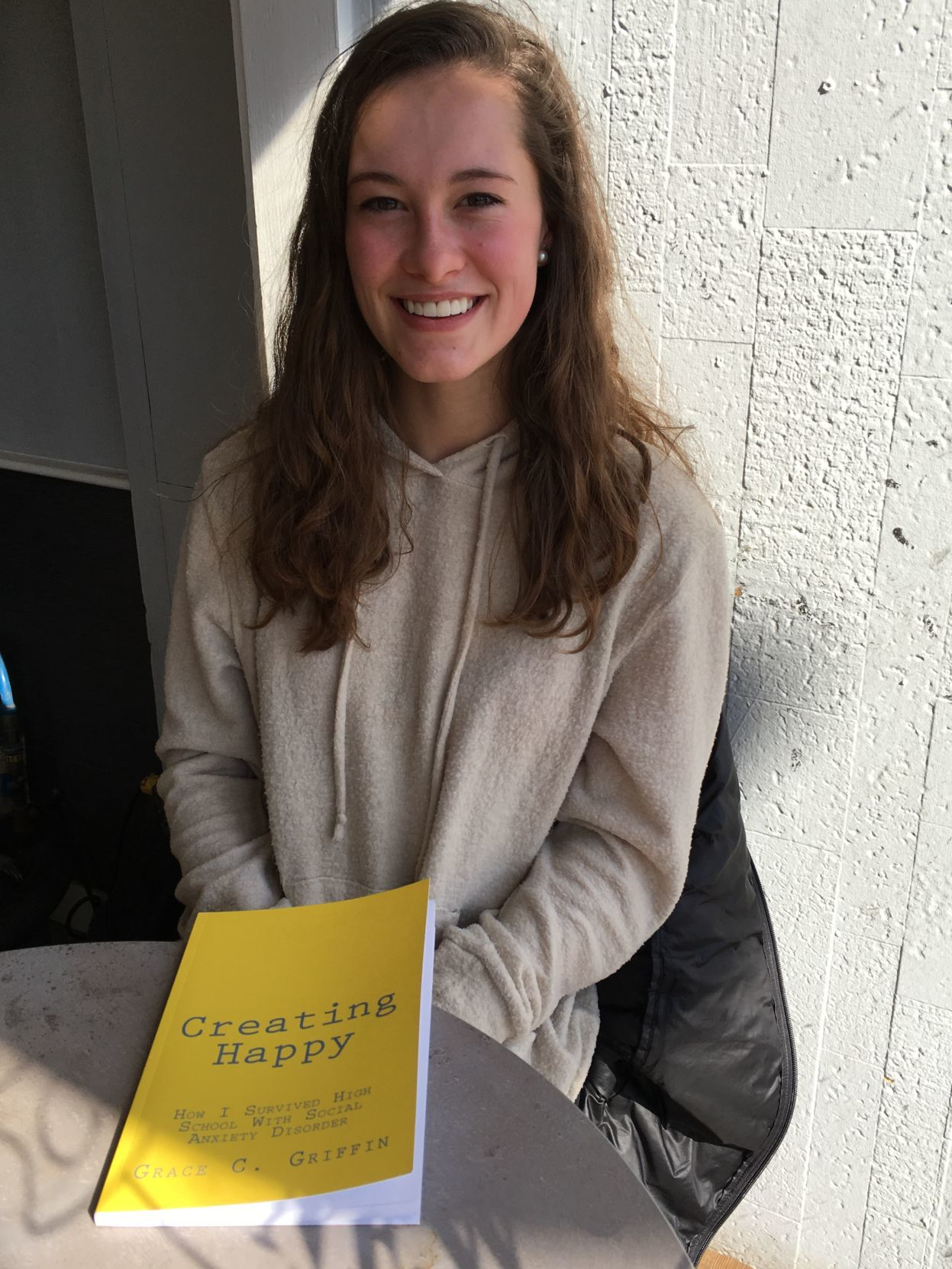 Grace Griffin wants to help others find their own 'happy'