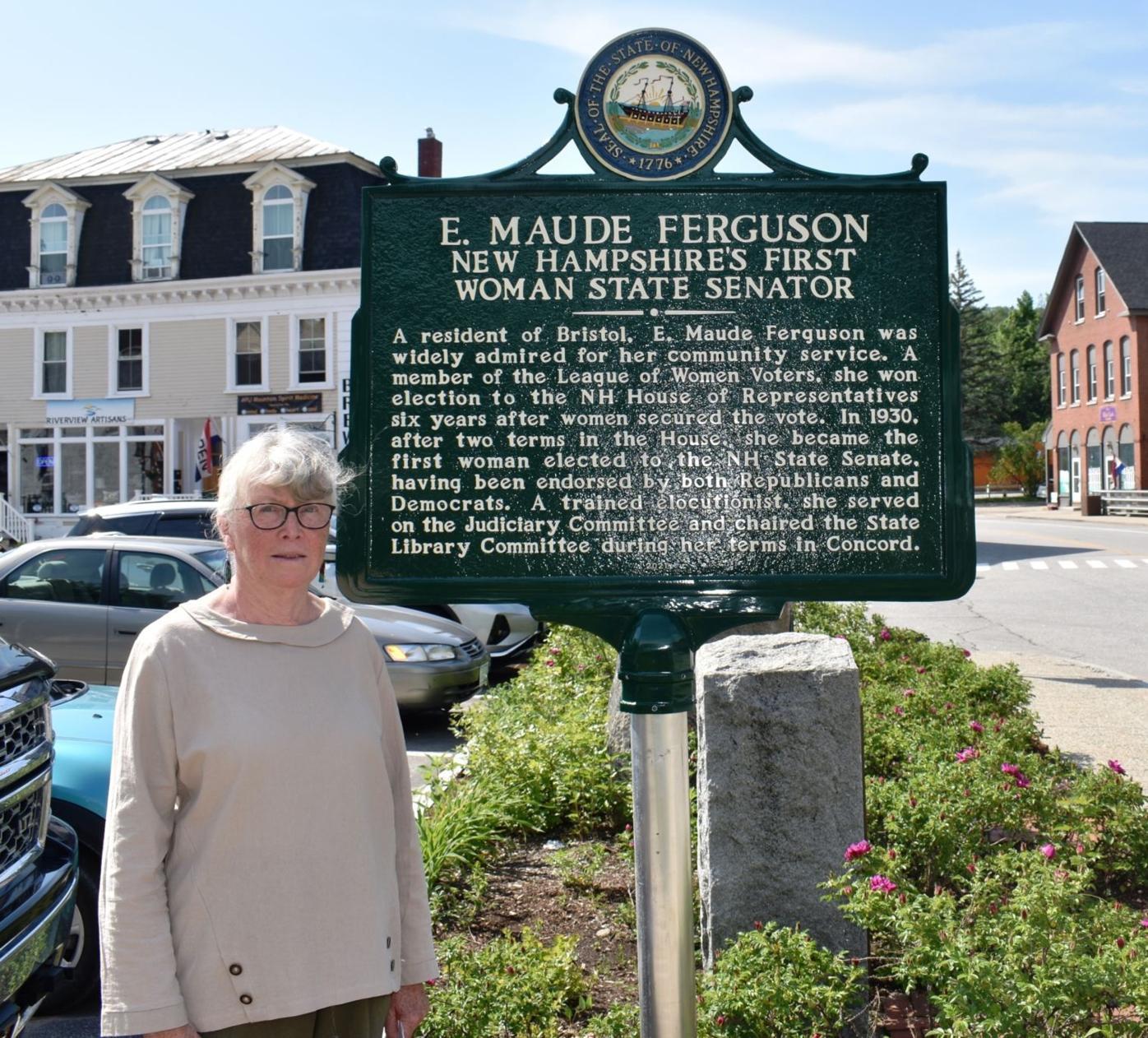 Bristol Historical Society President Lucille Keegan