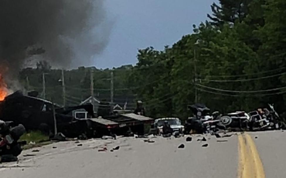 Marines among 7 dead in Randolph crash
