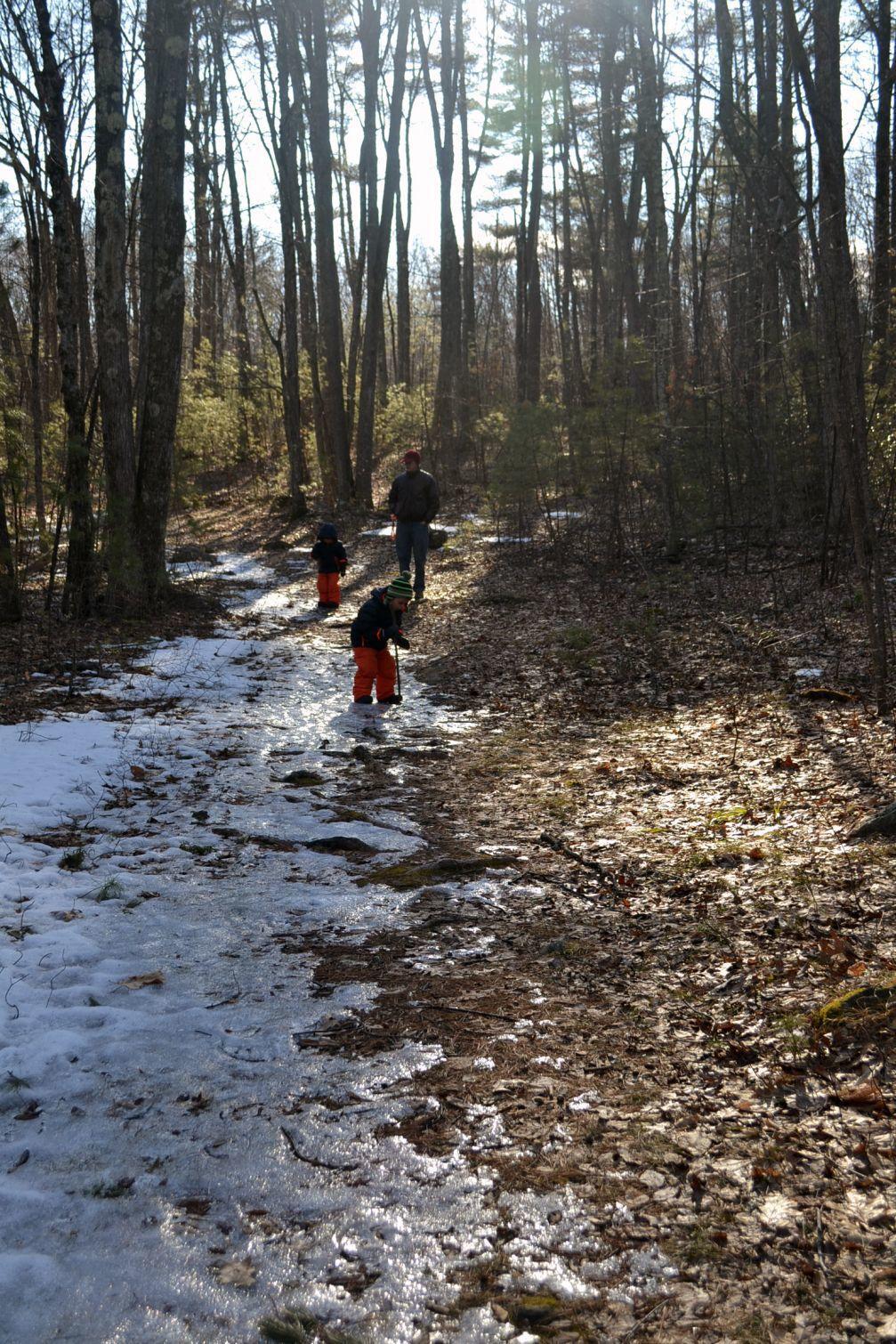 Exploring new trails