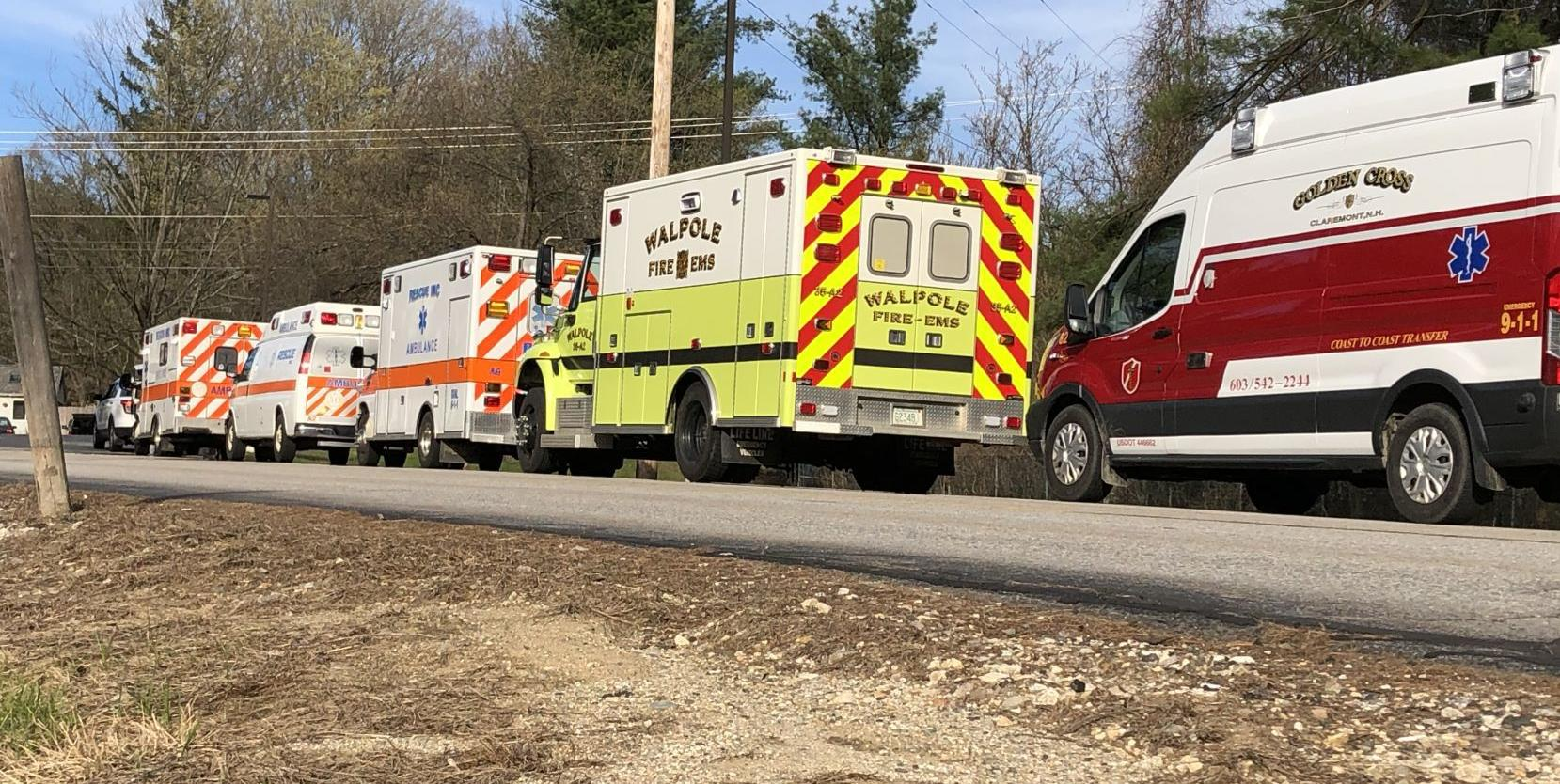 Boiler blows up at Cheshire Medical Center; ambulances line up to move 46 patients